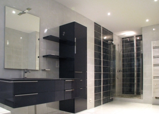 Sarl orgelet services salle de bain cl en main for Eclairage douche italienne