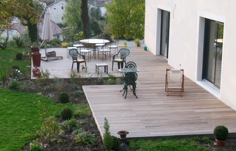 Emejing Amenagement Exterieur Terrasse Ideas  Design Trends