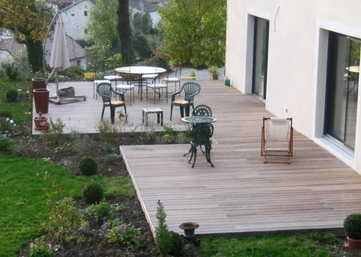 Sarl orgelet services am nagement ext rieur ma onnerie for Isolation terrasse exterieure