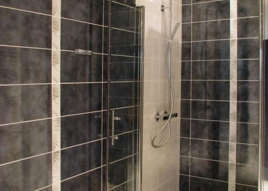 Sarl orgelet services salle de bain cl en main r novation de salle de ba - Luminaire douche italienne ...
